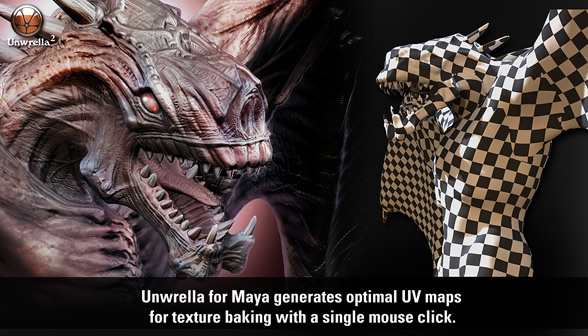 Unwrella v2.13 For Maya 2012 32Bit & 64Bit