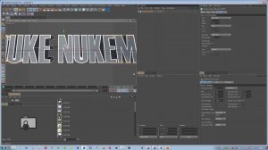 Duke Nukem Forever в Cinema 4D и After effects