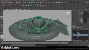 Exploring NURBS in Maya 2012 [2011, ENG]