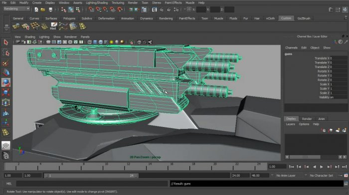 Professional Series - Modeling Military Vehicles in Maya