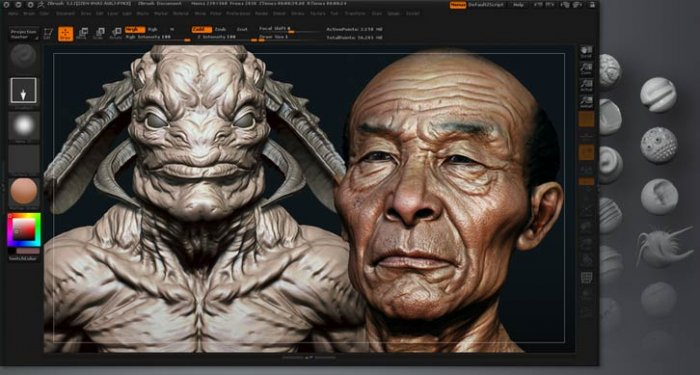 zBrush 4R2 X-Force