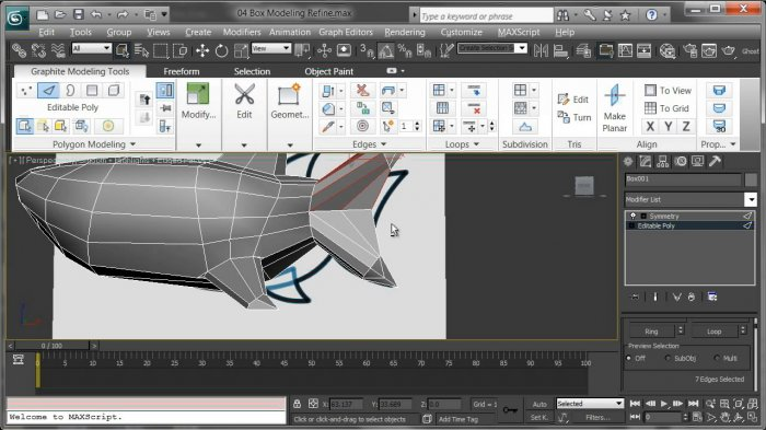 Creative Development: Modeling and Rigging a Cartoon Shark in 3ds Max with Stewart Jones