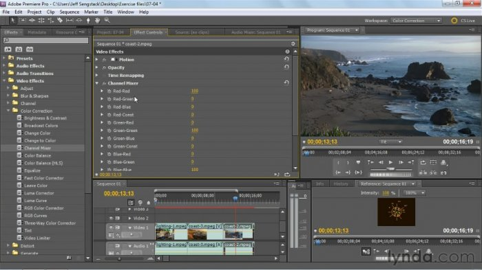 Premiere Pro: Color Correction and Enhancement