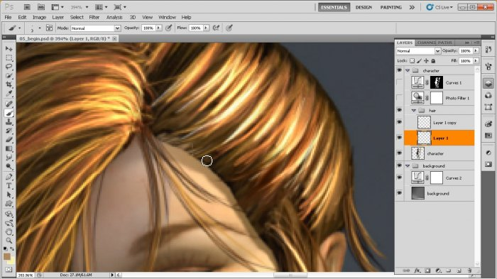 Finishing a 3D Image in Photoshop CS5