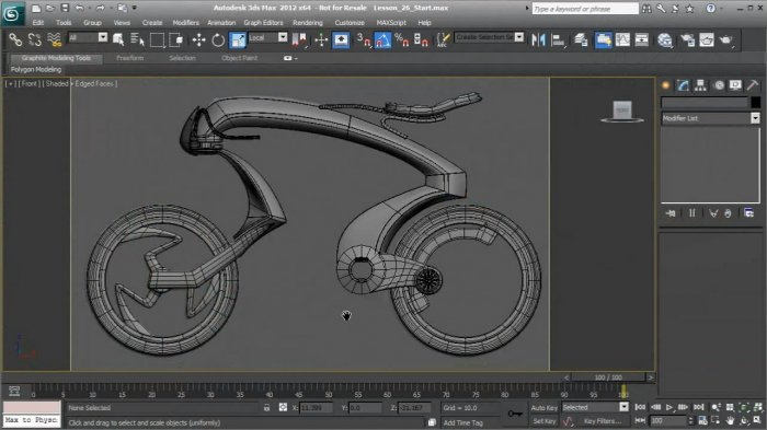 Introduction to Modeling in 3ds Max 2012