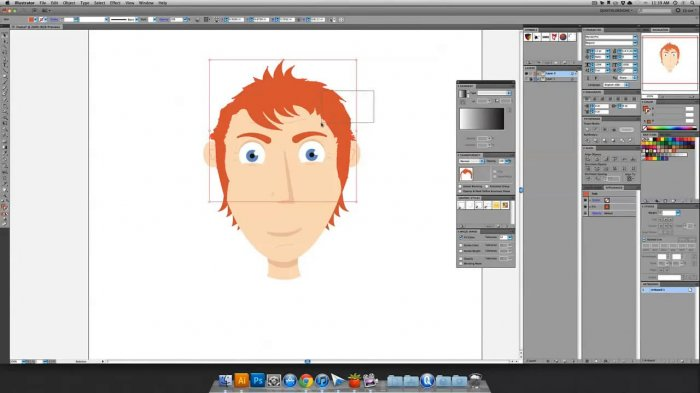 Quick Tip: Create a Simple Character Face with Vector Shapes