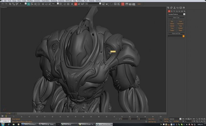 Hard Surface Modeling in 3D max