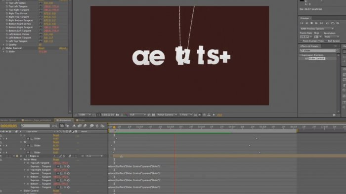 Drop In Your Logo With Some Bouncing Ropes – AE Premium