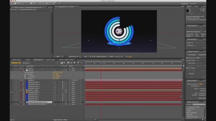 Gyroscopic after effects tutorial - Exclusive from aetuts+