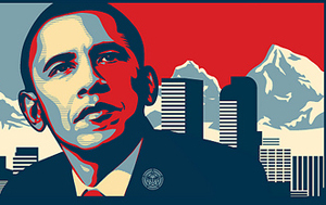 Photoshopping Obama 'Hope' Posters