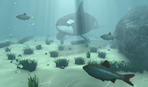 Underwater Scene Cinema 4D Tutorial