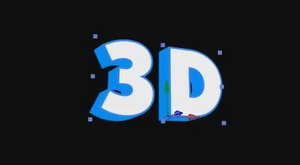3D текст в After effects