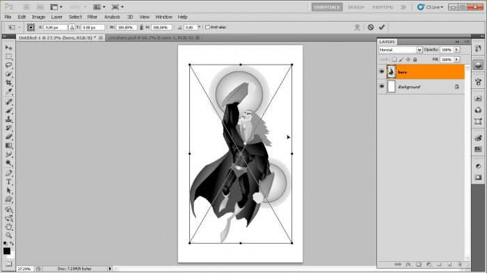 Sharing Artwork Between Illustrator and Photoshop