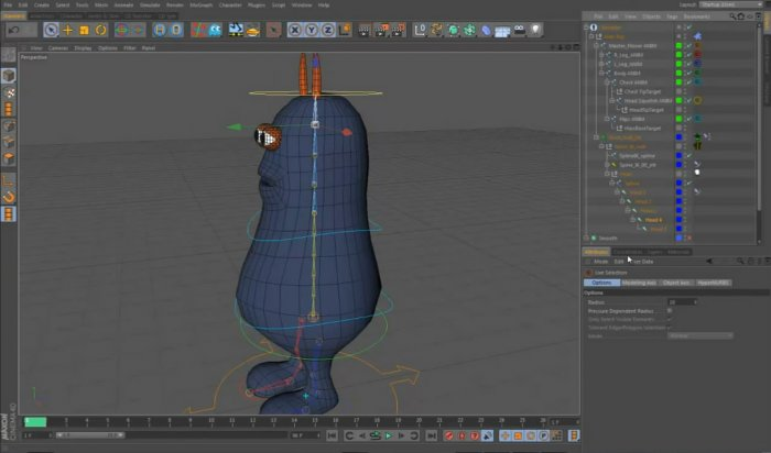 Character Rigging & Animation In Cinema 4D R13