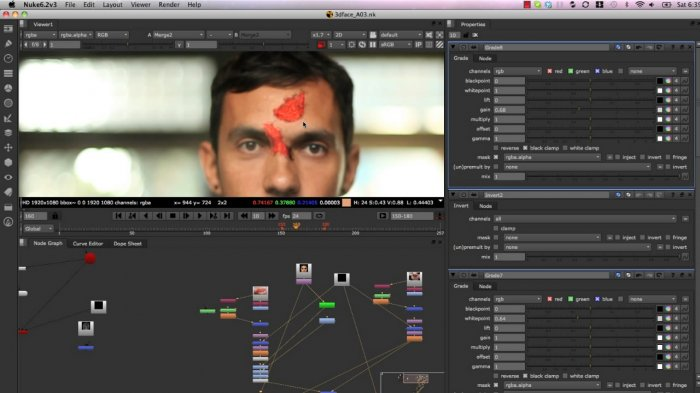 3D Character Texturing and Enhancement in NUKE with Alex Cancado