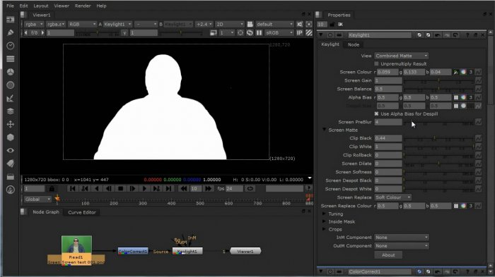 Using Track Mattes in Nuke by Dave Scandlyn