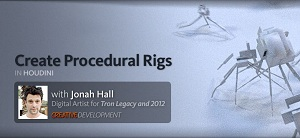 Creative Development: Creating Procedural Rigs and Controlling Motion in Houdini with Jonah Hall