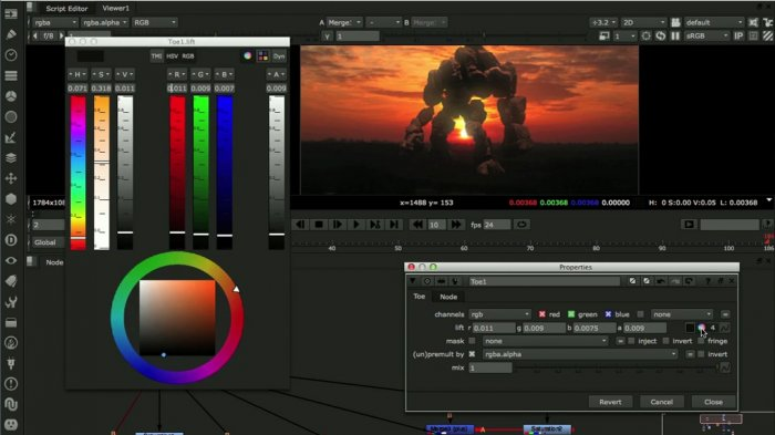Nuke Color Masterclass Dual Video Kit with Victor Perez