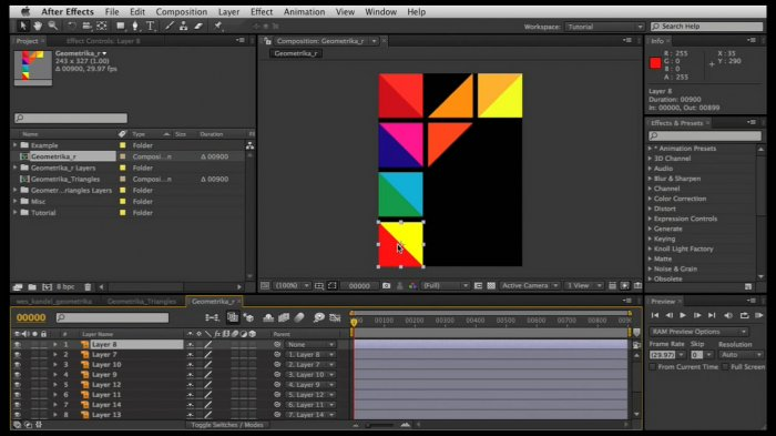 Create a Geometric Color Explosion