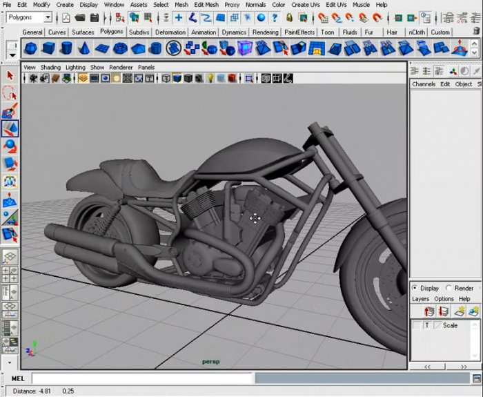 Digital Tutors - Motorcycle Modeling Techniques in Maya