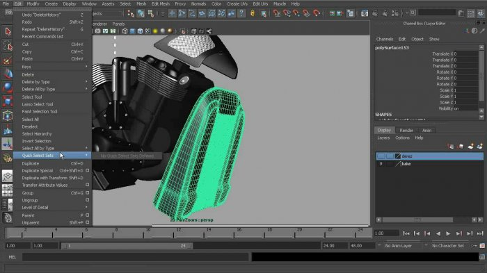 Creating Game Vehicles in Maya and TopoGun