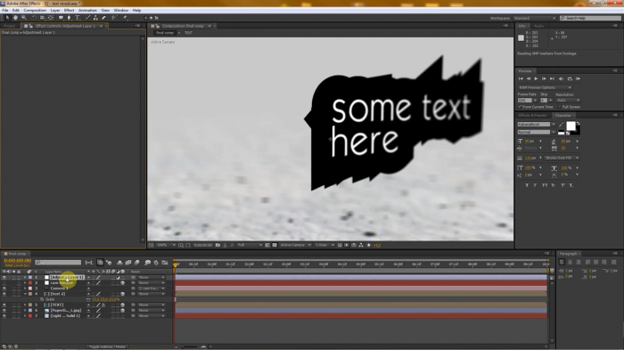 Text Reveal Tutorial in After Effects