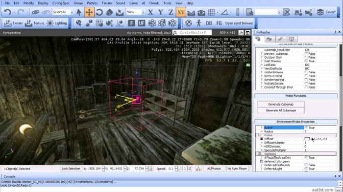 CryENGINE 3 Introduction and Application
