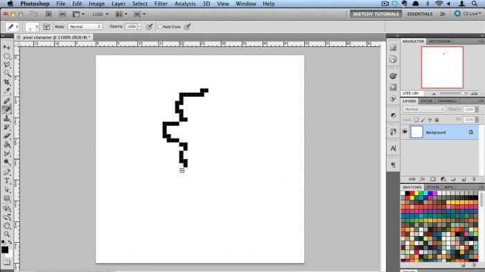 Creating Pixel Art in Photoshop