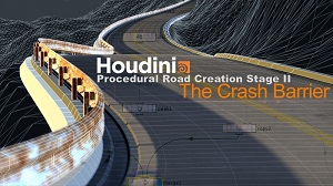 Houdini Procedural Road Creation 2