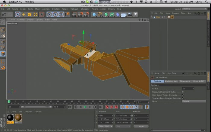 The Cinema 4D Tutorial For Absolute Beginners