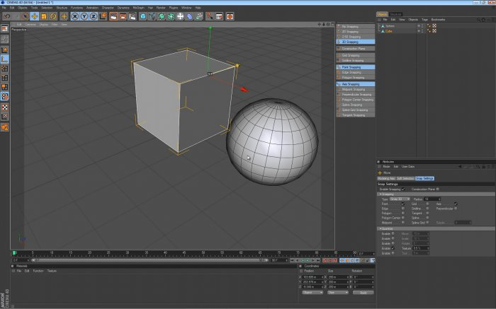 Vertex Pusher – Cinema 4D – Vol.1 Introduction and modeling