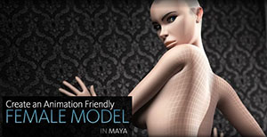 Creative Development: Modeling a Female Character for Animation in Maya with Gene Arvan