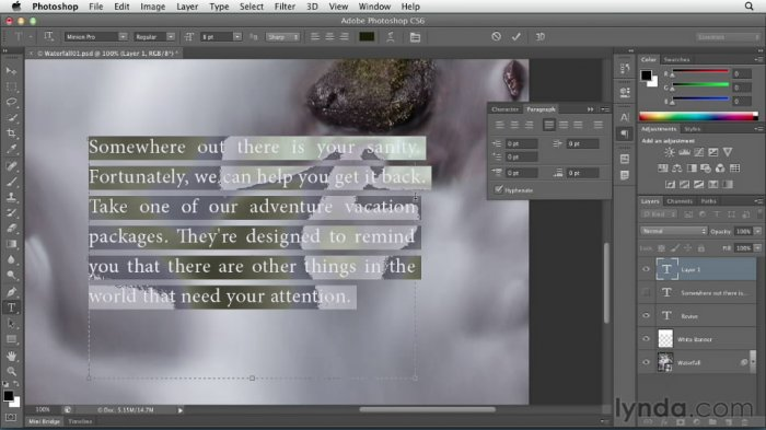 Photoshop CS6 Essential Training