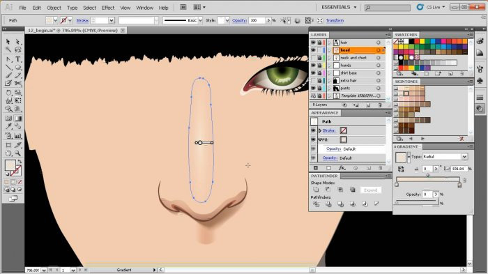 Creating Photo Inspired Vector Artwork in Illustrator
