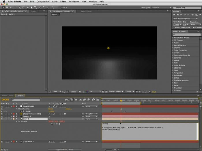 Wiggle in Cinema 4D