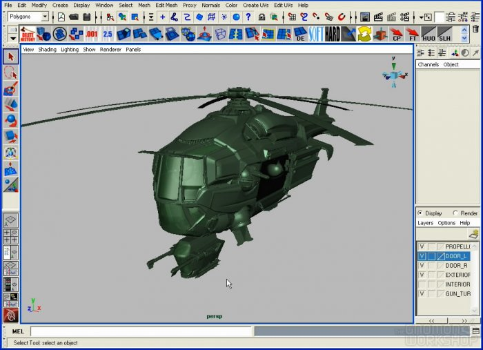 Vehicle Modeling for Production (Modeling Techniques with Paul Schoeni)