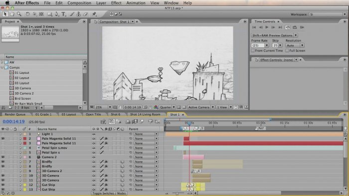 Nothing To Fear: From Storyboard to Animation