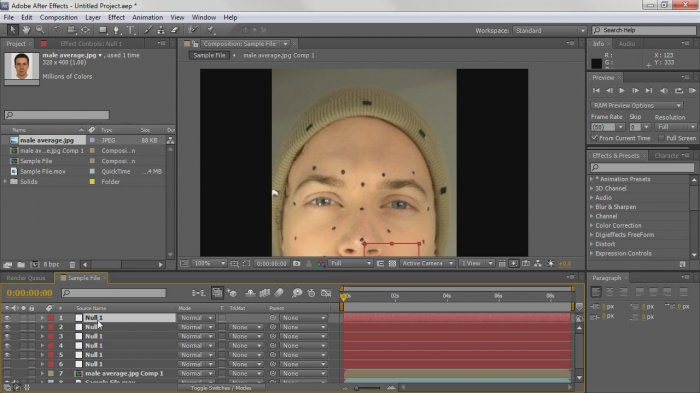Fantastic Facial Motion Capture