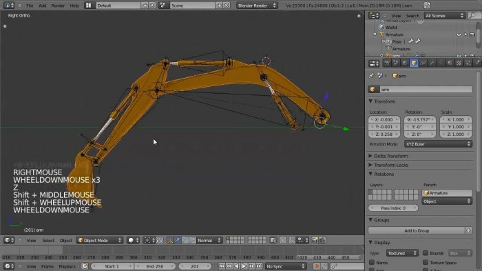 Rigging a Piston in Blender 2.5