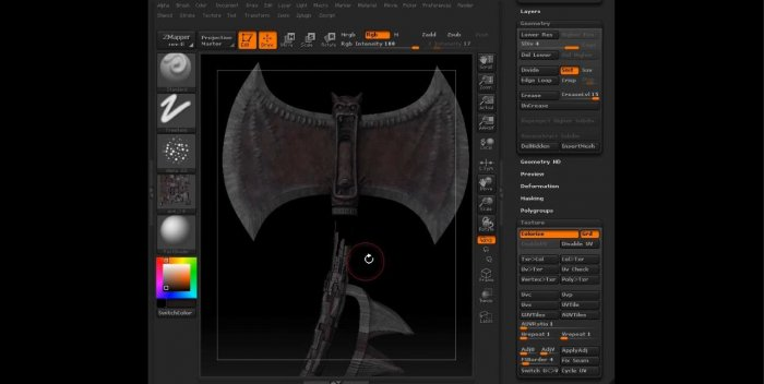 �������� �������� ������ (������) � 3ds Max � ZBrush