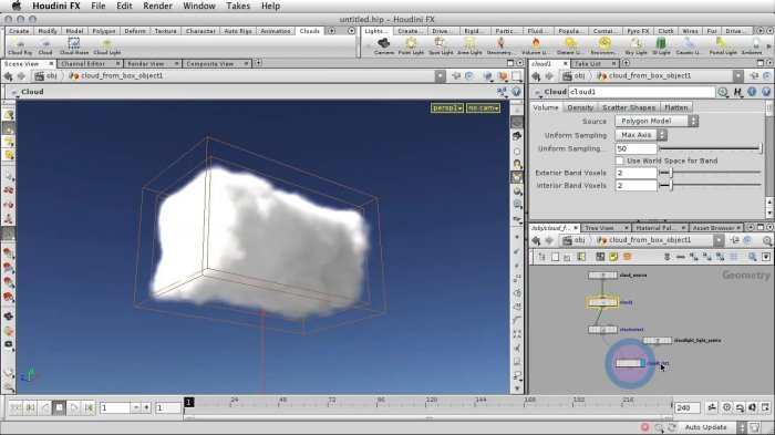 ������������ ������ � Houdini � Cloud Rig tool