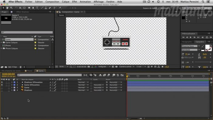 Векторная моушн анимация с After Effects CS6