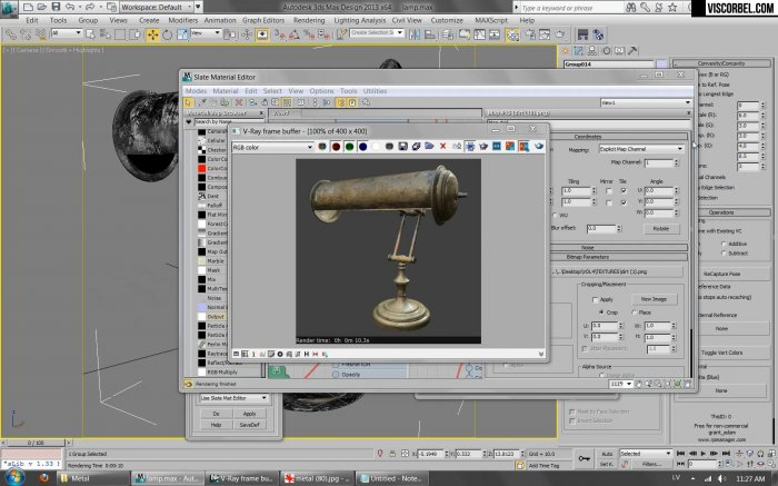 ��������, ��������� Vray ��������� � 3ds Max