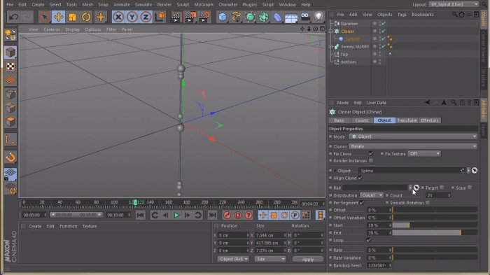 ����� ���� � CINEMA 4D � After Effects