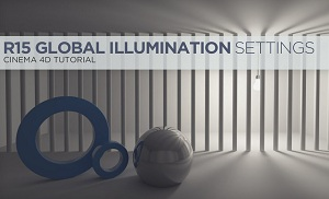 Настройки Global Illumination в Cinema 4D R15