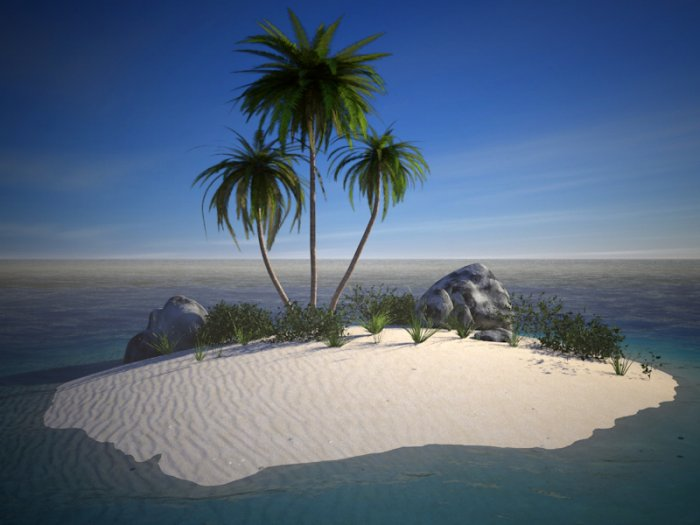 Island Kit ��� Cinema 4D