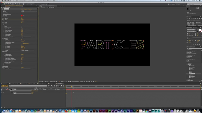 ���������� 3D Stroke � Particular � After Effects