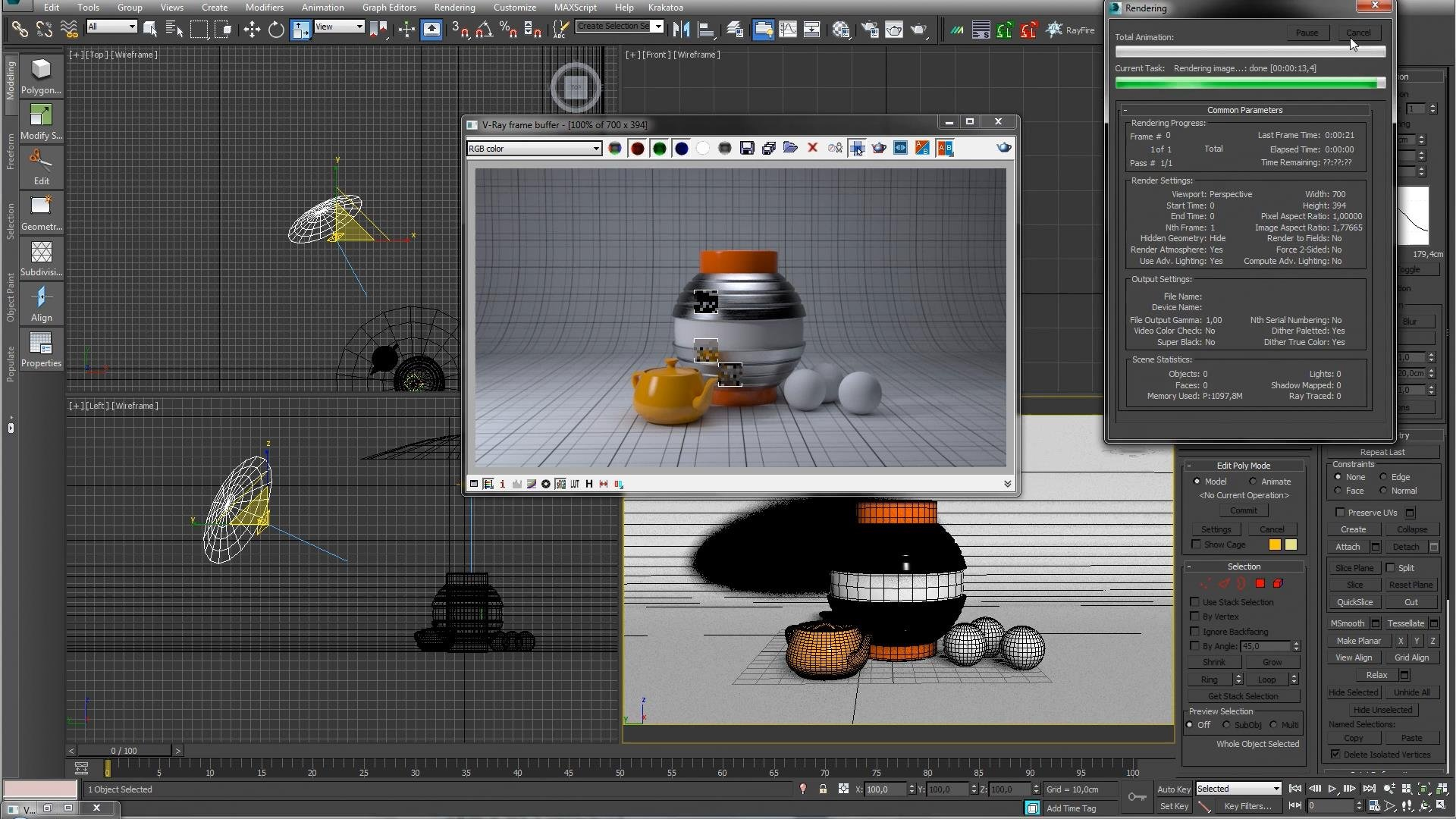 V-ray for 3ds max 2011 x64 торрент