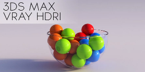 Vray HDRI Lighting в 3DS Max