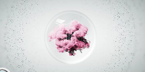 Crystal Ball Ident в Cinema 4D и After Effects